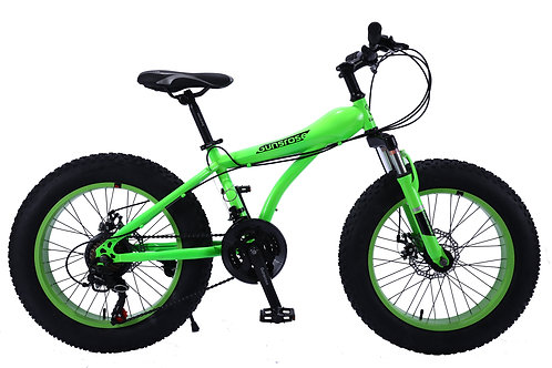 "20"" GUNSROSE Kids Fat Tyre Bike SHIMANO Gear 21 Speed"