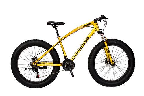 """26"""" GUNSROSE G4.0 Fat Tyre Bike SHIMANO Gear 21 Speed"""
