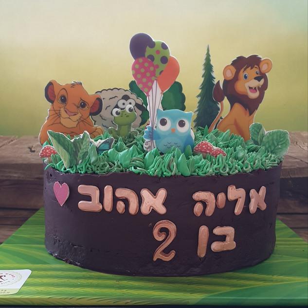 עוגת יער אליה