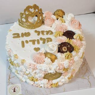 עוגה מעוצבת קלודין
