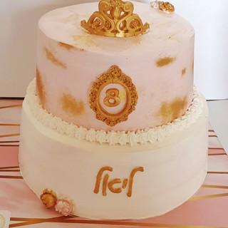 עוגת קומות לנסיכה