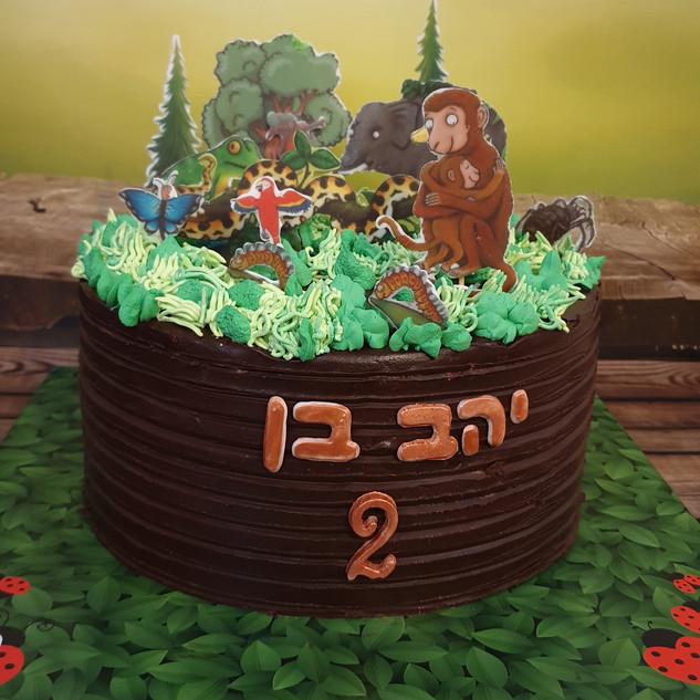 עוגת יער יהב