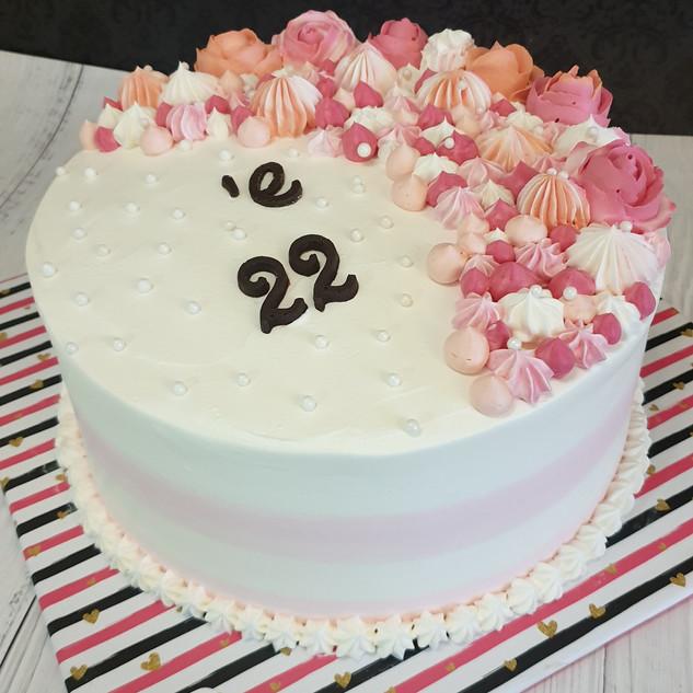 עוגת פרחים שי