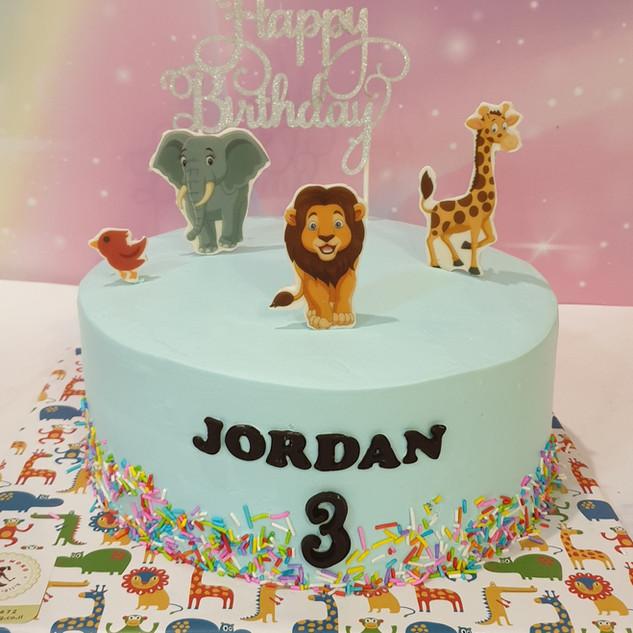 עוגת גן חיות