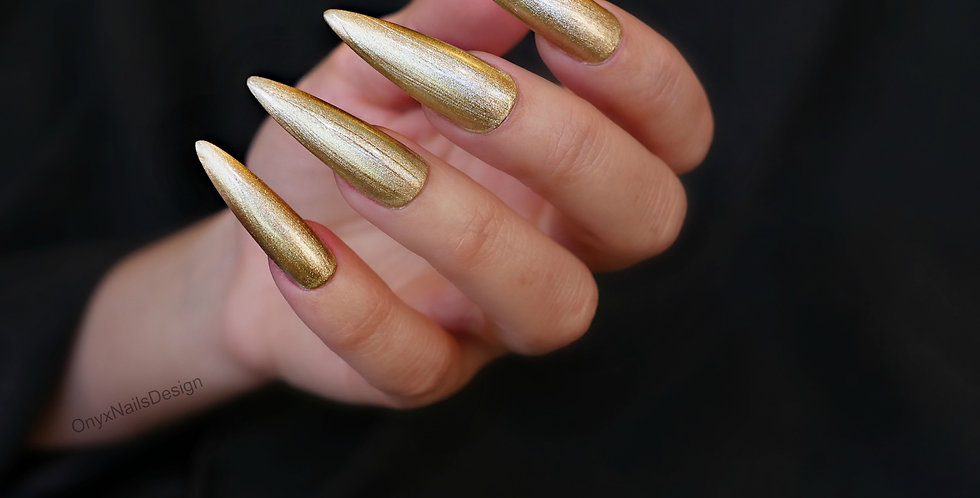 Metallic Gold