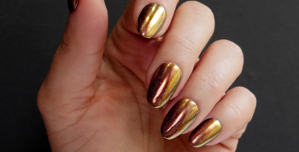 Copper Holographic Chrome