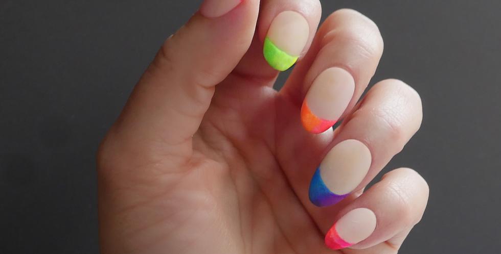 Neon Rainbow Ombre