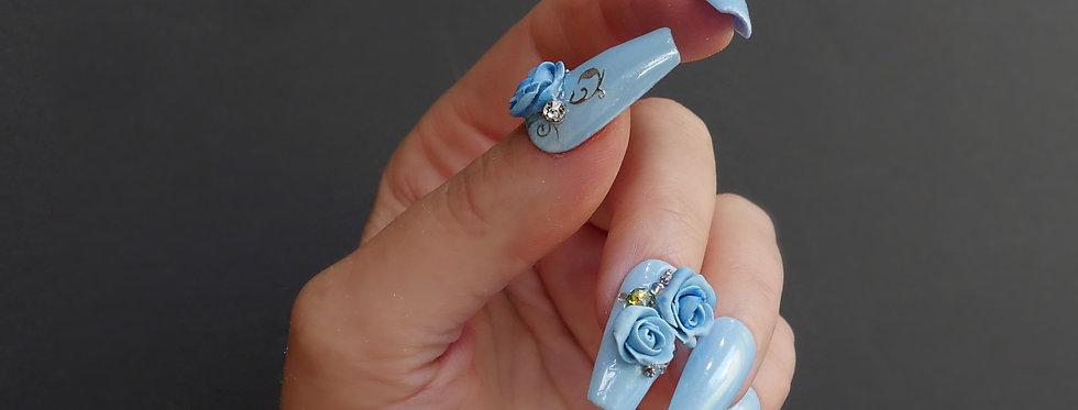 Romantic Blue Rose