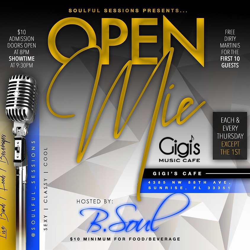 Soulful Session - Open Mic