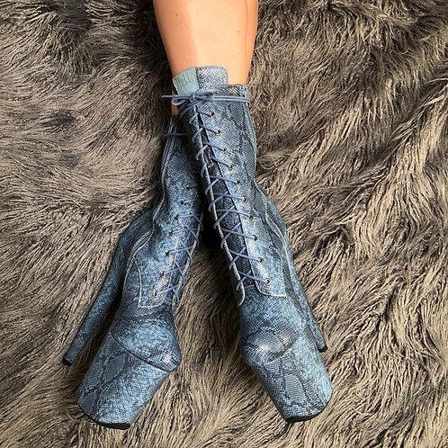 Anaconda Boots - 8 INCH HELLA HEELS