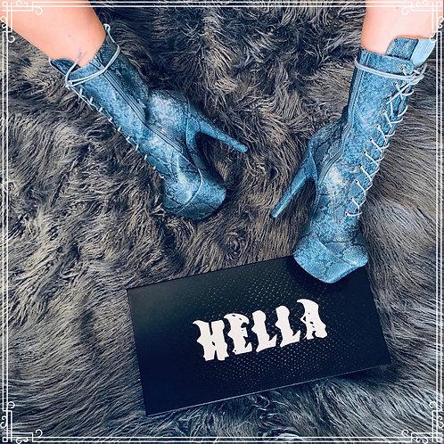 Anaconda Boots - 7INCH HELLA HEELS