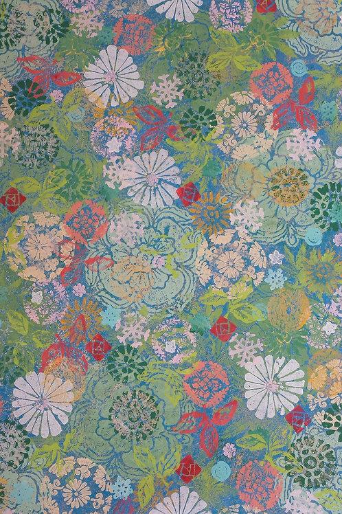 Flower Shower print