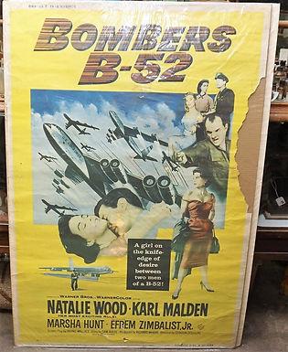 1950s-60s Movie Poster - Bombers B-52