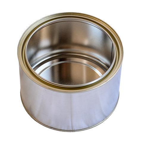 1 litre Tin Plain TT & Lid