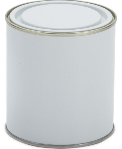 5litre Tin White TT - no handle