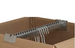Hanger Rail (For HP 10) - 24 slot
