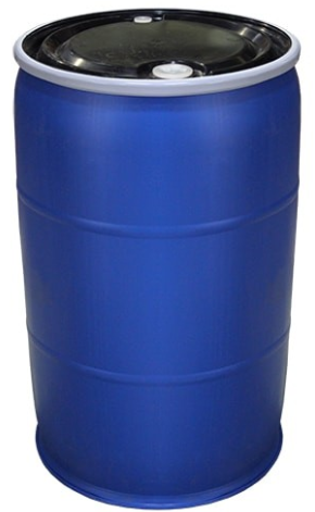 220L Drum - Open Head - 8kg Blue