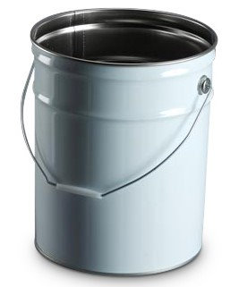 20litre Tin White TT - with handle