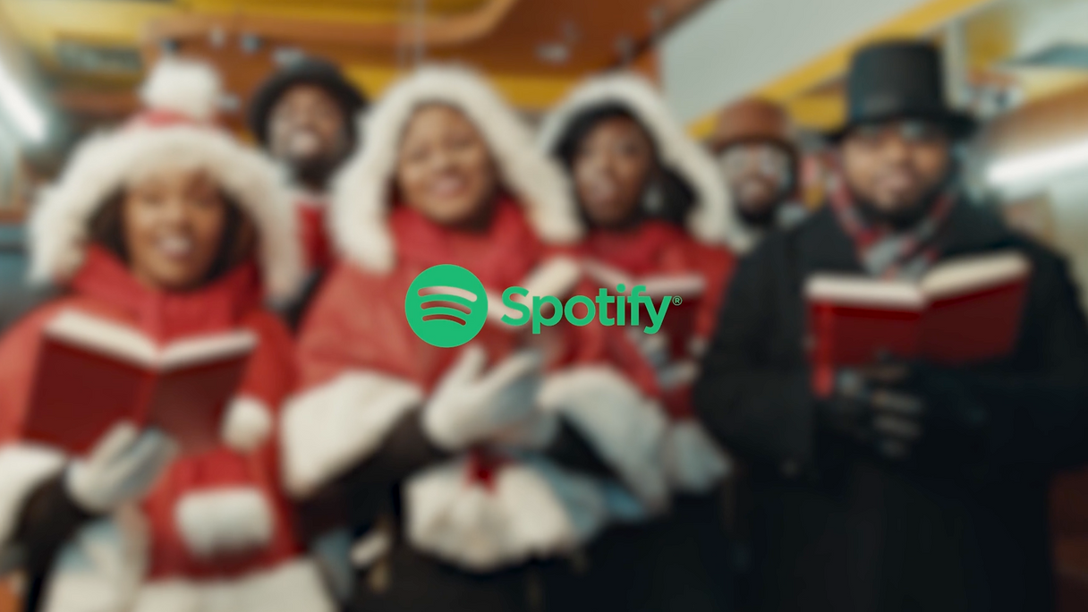 Spotify Holiday Carolers 2018 Campaigns.