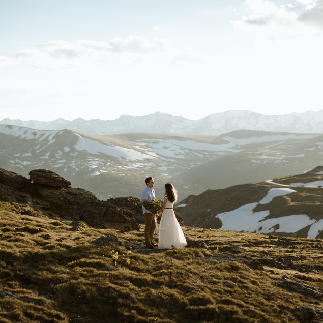 Katelyn + Lathan   Rocky Mountain National Park Anniversary Session