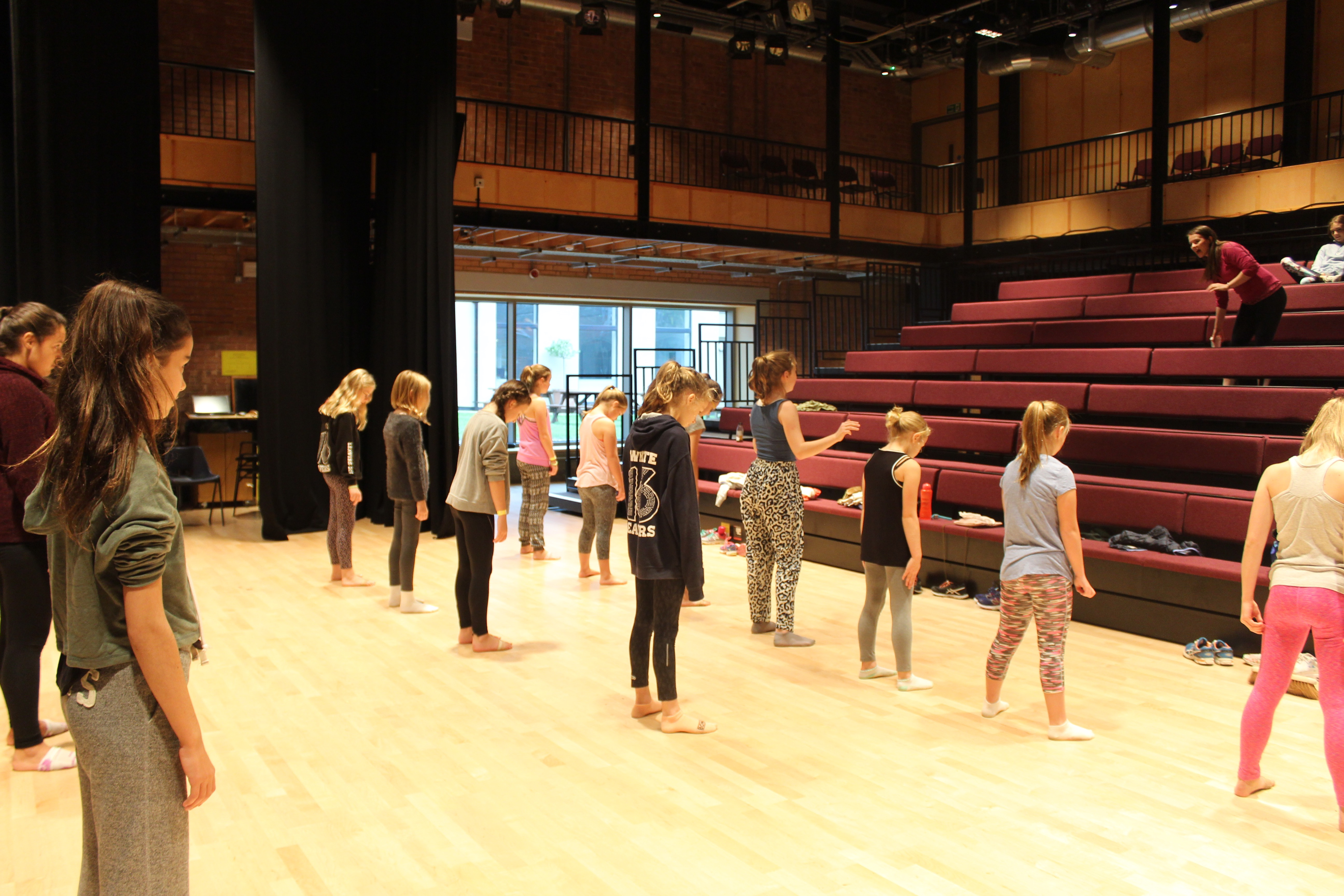 Musical theatre rehearsals