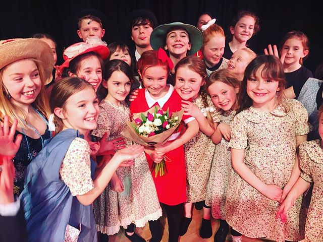 Show one of Annie!! Well done everyone,