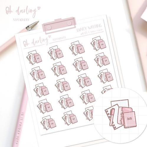 "Doodle ""Diary Writing"""