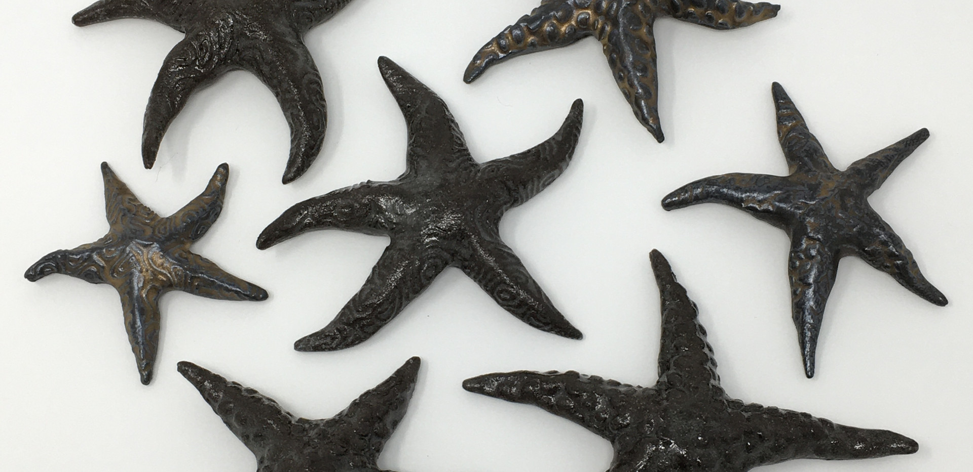 Brown Ceramic Starfish