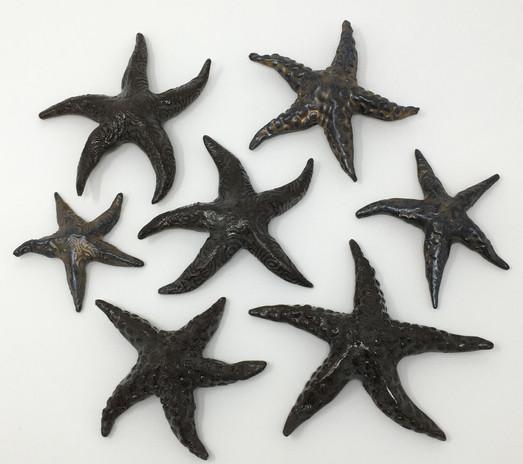 Brown Ceramic Starfish