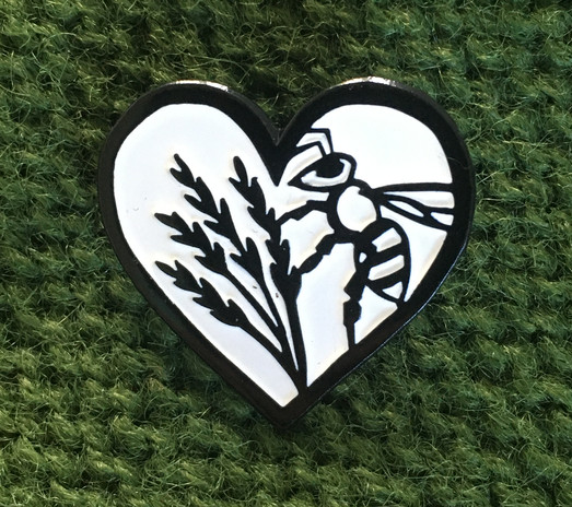 Lovely Pollinator Pin