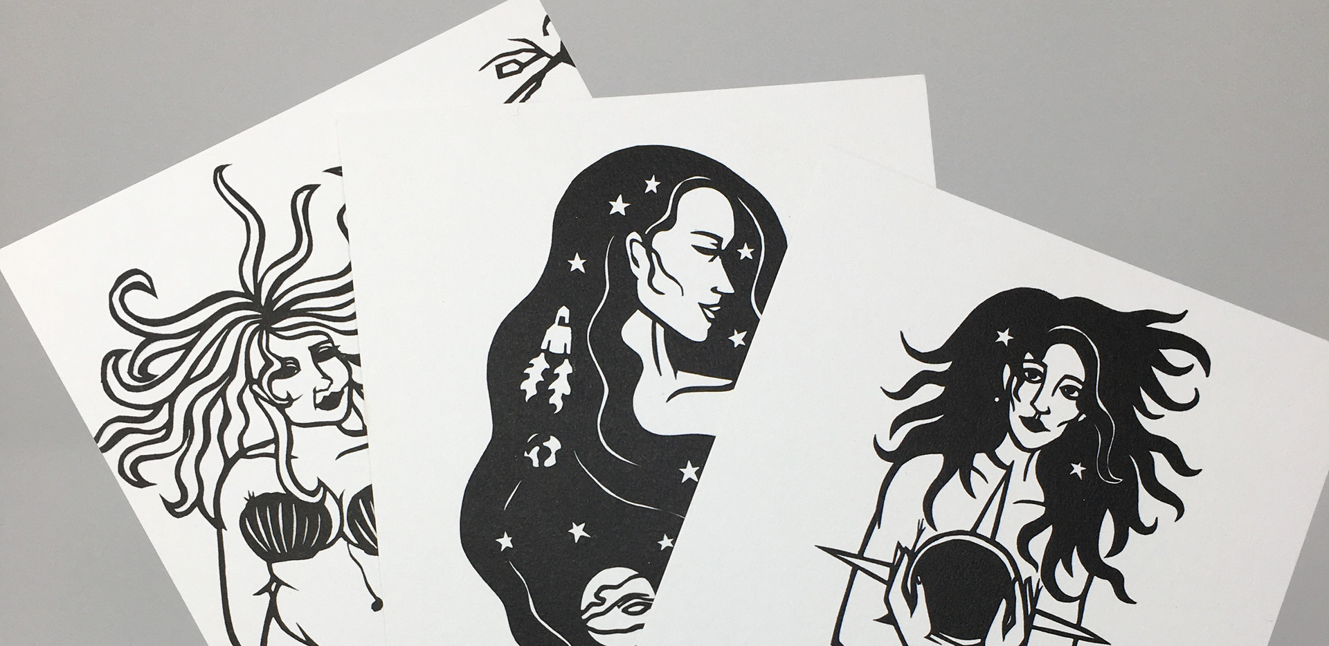 Mini Mystic Prints