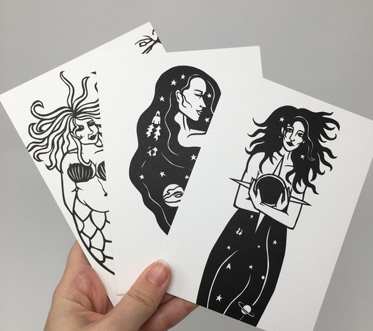 Mini Mystic Prints