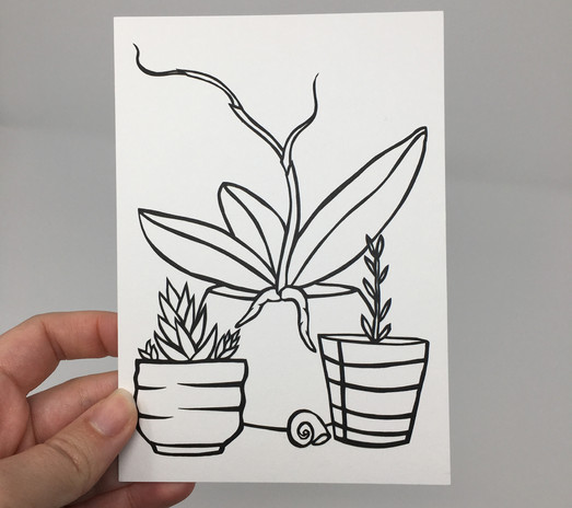 Mini Plant Print