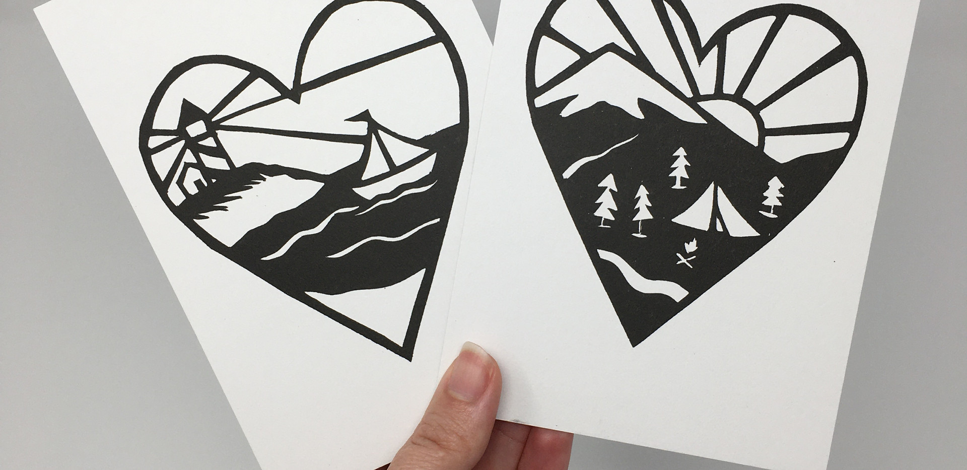Mini Love Outdoors Prints