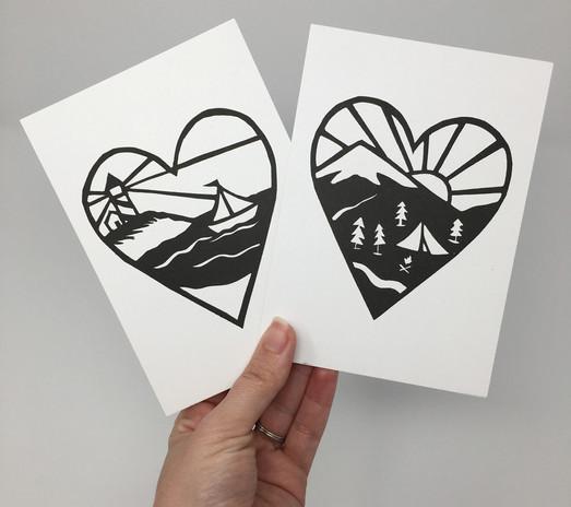 Mini Love Outdoors Prints