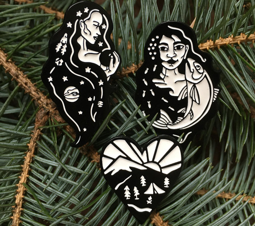 Nature Lover Pins