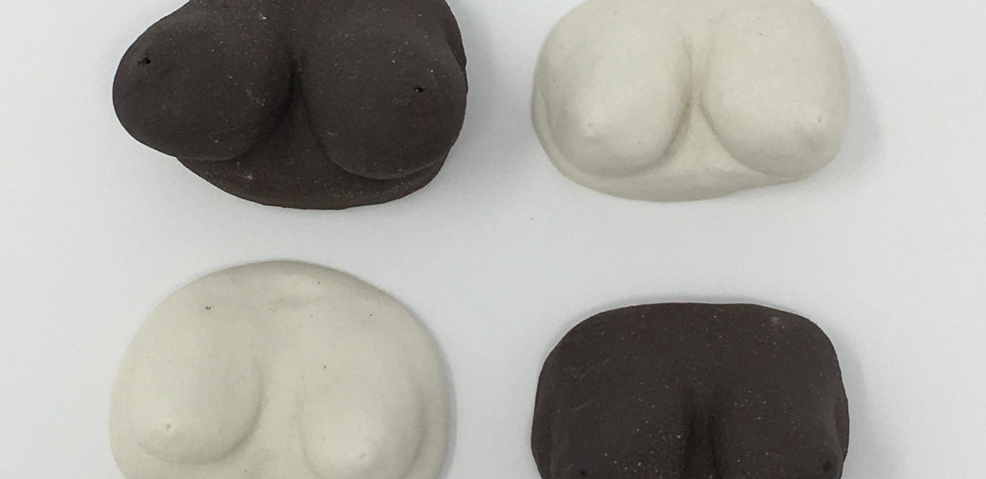 Ceramic Boobs