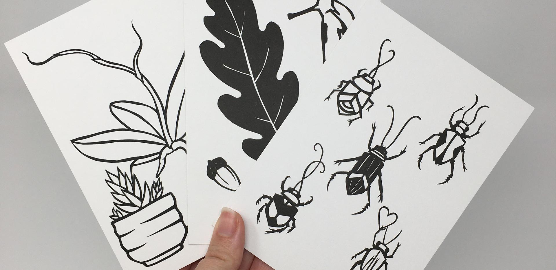 Mini Nature Prints