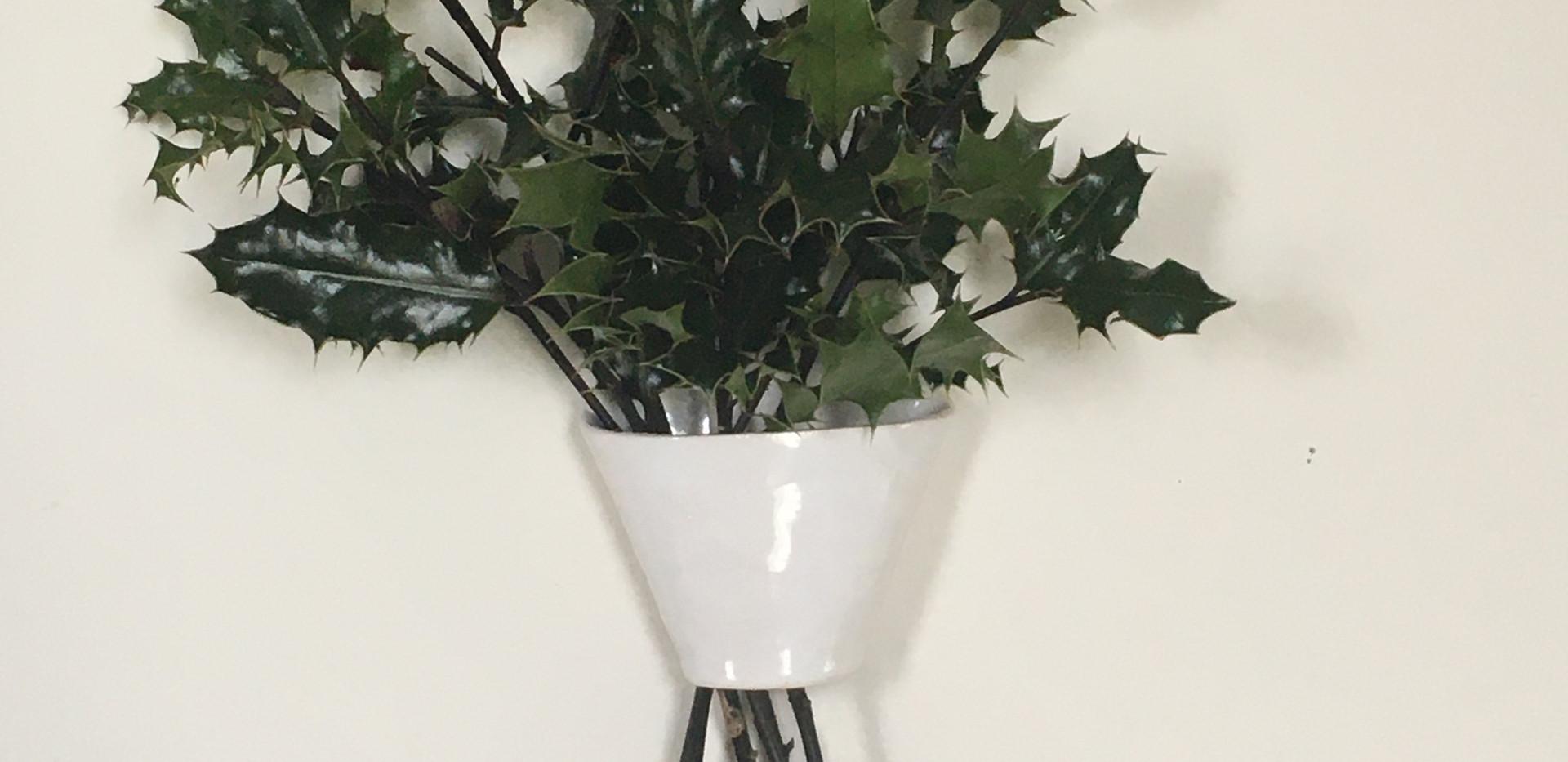 Holds Holiday Foliage