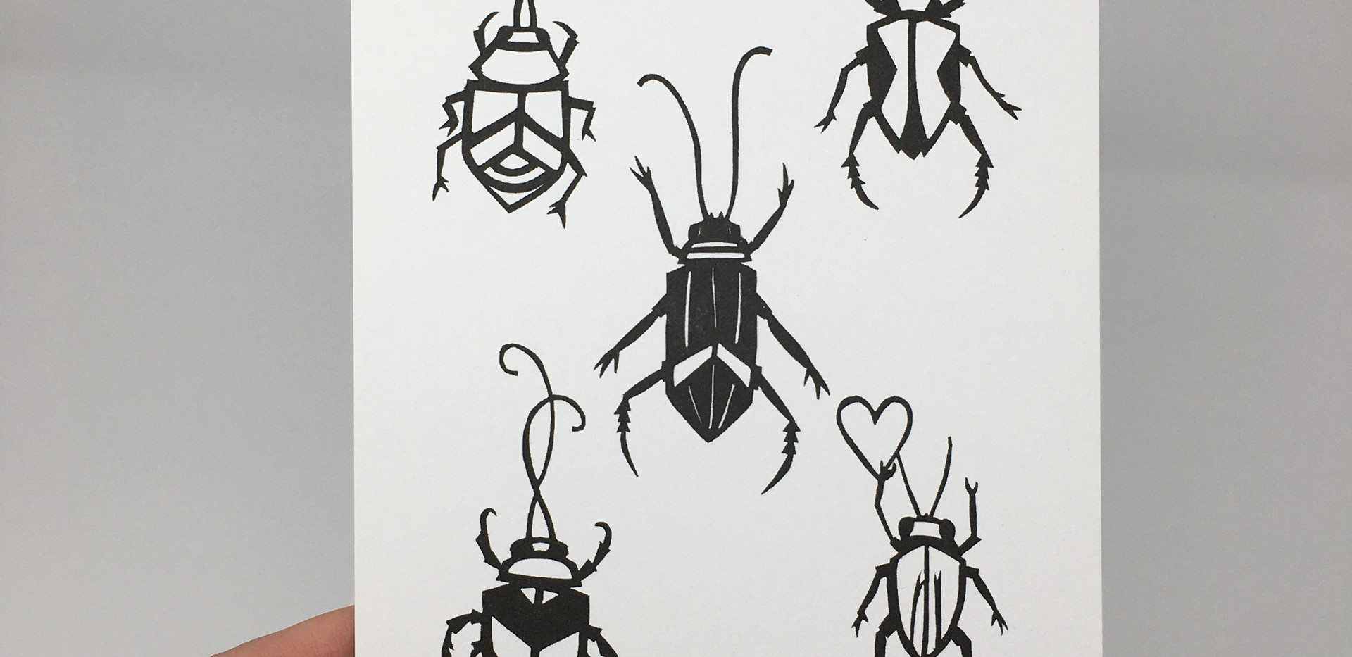 Mini Beetle Print