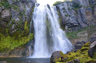 Камчатка. Экскурсия в Мини-долину Гейзеров, посещение водопада Косы Вероники.