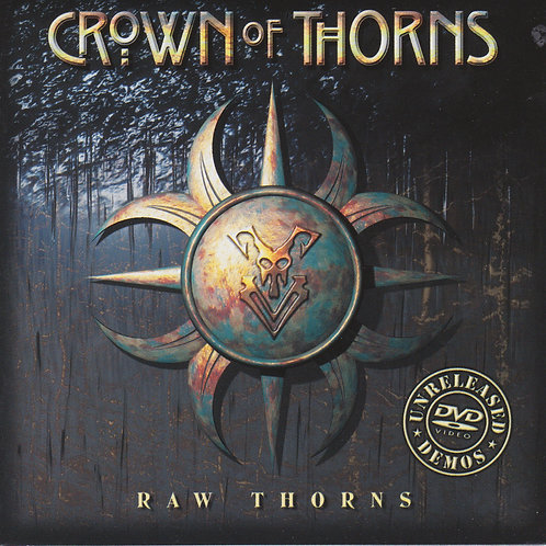"Crown of Thorns ""Raw Thorns"" 2 CD/DVD set - Autographed by Jean Beauvoir"