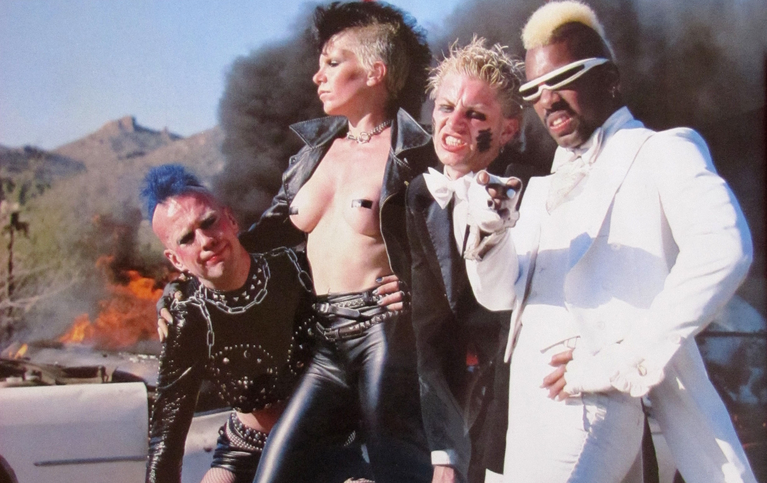 The Plasmatics Jean Beauvoir 1980