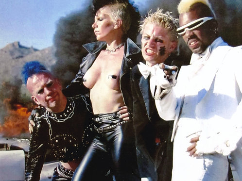 8x10 Plasmatics Photo - Autographed by Jean Beauvoir