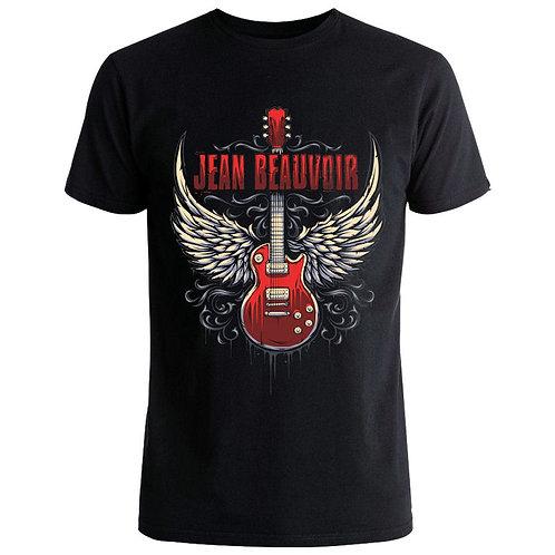 """Jean Beauvoir """"Guitar Wings"""" Unisex T-shirt"""