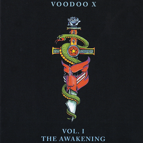 """Voodoo X """"Vol 1. - The Awakening"""" CD - Autographed  by Jean Beauvoir"""