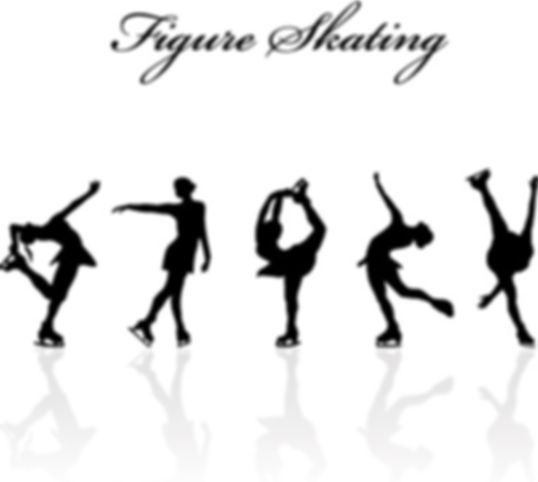 figure_skating_design_vector_silhouettes