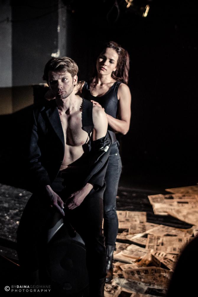 BONIJA&KLAIDS:izrāde /  BONNIE&CLYDE:the production