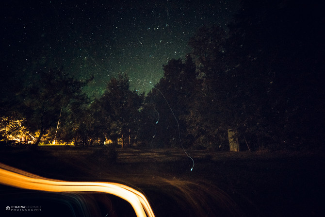 Gāju zvaigznes palasīti /  Walkabout the starry night
