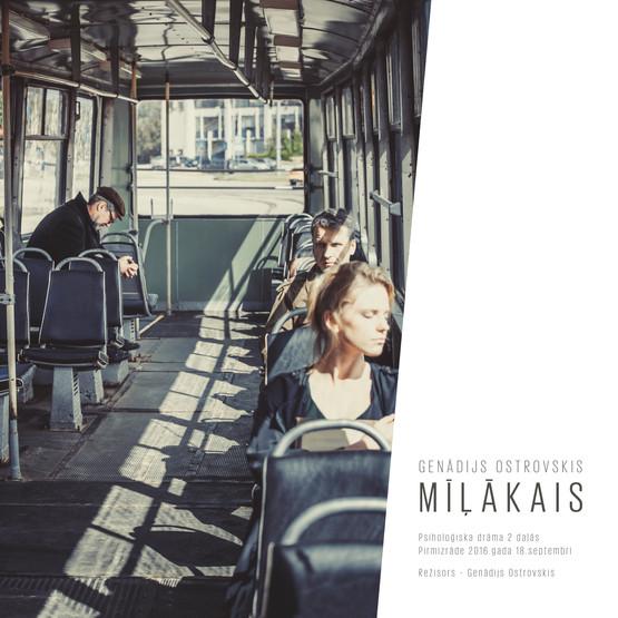 MĪĻĀKAIS / LOVER